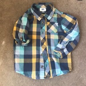 Colorful Button Up Shirt